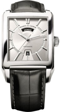 Maurice Lacroix Day Date PT6237-SS001-13E Stainless Steel 36mm Mens Watch