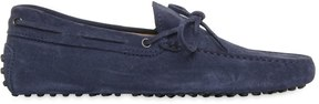 Tod's Gommino 122 Suede Driving Shoes