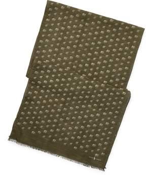 Ralph Lauren Reversible Silk-Linen Scarf