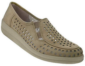 Spring Step Twila Casual Loafers with Square Punchwork