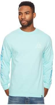 HUF Night Call Triple Triangle Long Sleeve Men's T Shirt