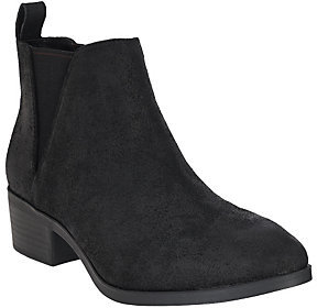 Sole Society As Is Leather Chelsea Boots - Mars