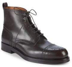 Bally Nordal Leather Ankle Boots