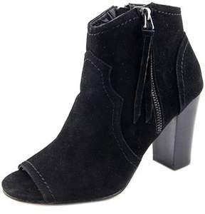 XOXO Barron Women Peep-toe Synthetic Black Bootie.