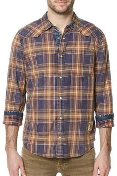 Buffalo David Bitton Plaid Casual Button-Down Shirt