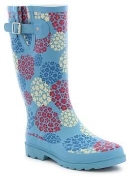Western Chief Hydrangea Blooms Rain Boot (Women)