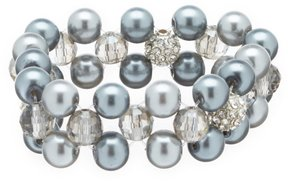 Cezanne Faux-Pearl Stretch Bracelet