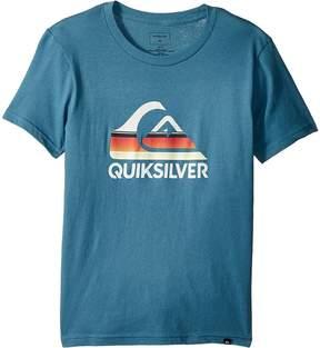 Quiksilver Waves Ahead Tee Boy's T Shirt