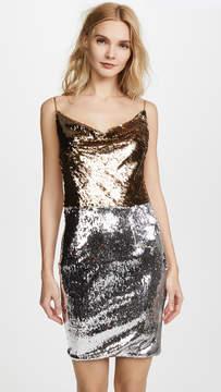 Black Halo Lucy Colorblock Dress