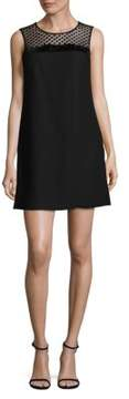 CeCe Blair Sleeveless Velvet Mini Dress