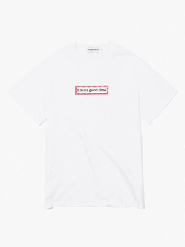 Have A Good Time Side Frame S/S Tee - White