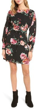 Everly Women's Floral Print Corset Dress