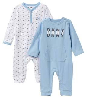 DKNY Baby Coveralls - Pack of 2 (Baby Boys 0-9M)