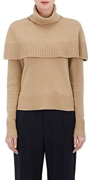 Chloé Women's Cashmere Capelet Turtleneck Sweater