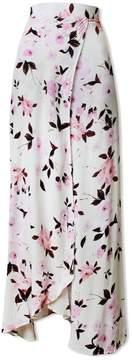 Flynn Skye   Wrap It Up Skirt - Scattered Roses   L