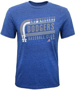 Majestic Boys 8-20 Los Angeles Dodgers Curve Ball Tee