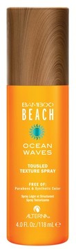 Alterna Bamboo Beach Ocean Waves Touseled Texture Spray
