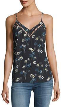 Ella Moss Adara V-Neck Floral-Print Top