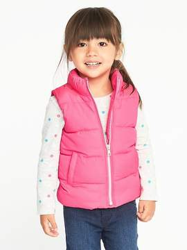 Old Navy Frost-Free Vests for Toddler Girls