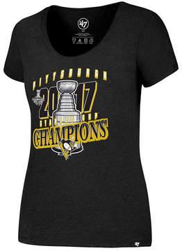'47 Women's Pittsburgh Penguins Stanley Cup Scoop T-Shirt