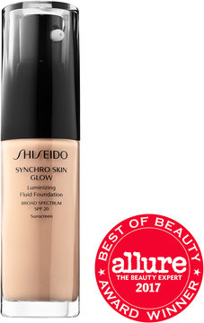 Shiseido Synchro Skin Glow Luminizing Fluid Foundation Broad Spectrum SPF 20