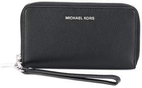MICHAEL Michael Kors logo zip purse - BLACK - STYLE