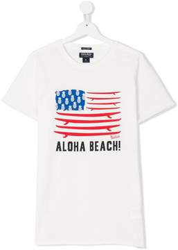 Woolrich Kids TEEN aloha beach T-shirt