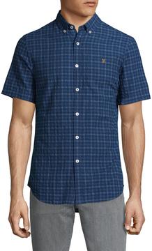 Farah Men's Cosford Check Sportshirt