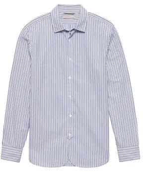 Banana Republic Heritage Grant Slim-Fit Stripe Shirt