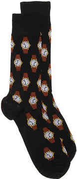 Hot Sox Men's Watch Dress Socks