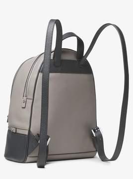 MICHAEL Michael Kors Rhea Medium Color-Block Pebbled Leather Backpack
