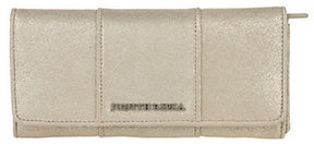 As Is Judith Ripka Bedford Weathered Gold Metallic Wallet