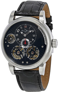 Lucien Piccard Cosmos Automatic Black Dial Men's Watch