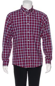 Jack Spade Plaid Woven Shirt