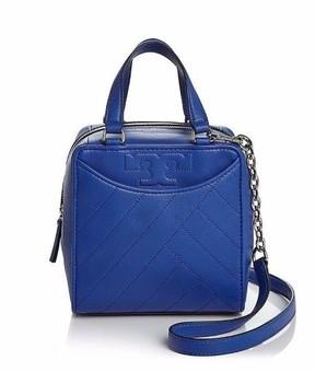 Tory Burch NWT Lamb Leather Alexa Mini Satchel Shoulder Bag Songbird BLUE - ONE COLOR - STYLE