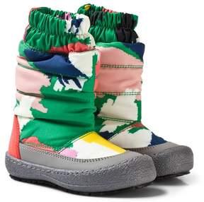 Stella McCartney Multi-colour Camouflage Ski Boots
