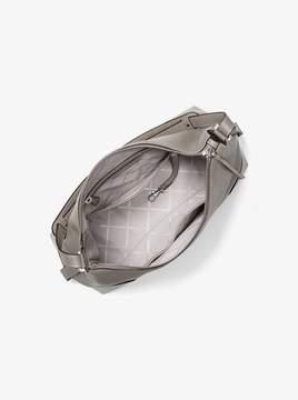MICHAEL Michael Kors Crosby Large Pebbled Leather Shoulder Bag