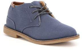 Kenneth Cole Reaction Kenneth Cole New York Boys' Real Deal Fabric Lace Up Chukka Boot