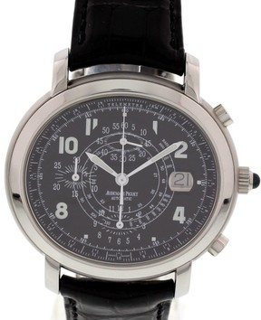 Audemars Piguet Millenary 25822ST/O/0001CR/02 Stainless Steel Chronograph Mens Watch