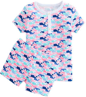 Vineyard Vines Girls Multi Whale Printed Lounge Set