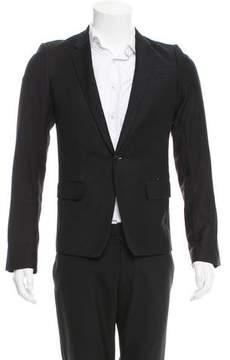 Helmut Lang Wool One-Button Blazer