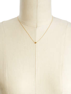 Alternative Apparel Cloverpost Zodiac Chain Necklace: Virgo