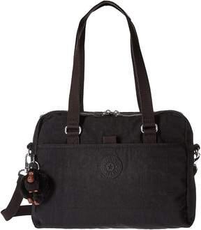 Kipling Devyn Satchel Satchel Handbags - BLACK - STYLE