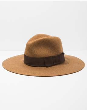 7 For All Mankind | Brixton Piper Hat In Heather Coffee | M