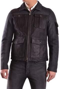 Peuterey Men's Black Wool Outerwear Jacket.