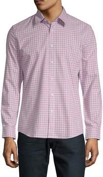 Hyden Yoo Men's Slim Long-Sleeve Cotton Button-Down Shirt
