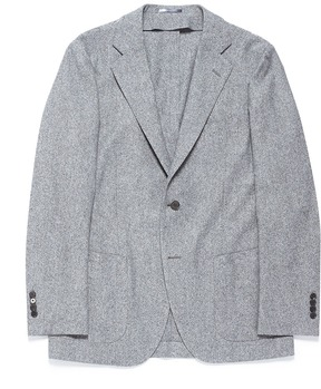 TOMORROWLAND Ermenegildo Zegna Huacaya tweed soft blazer