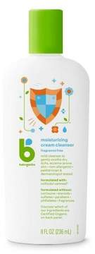 Babyganics Moisturizing Therapy Cream Wash, Fragrance Free - 8oz Bottle