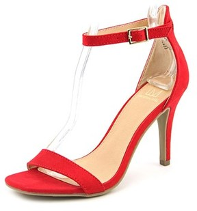 Material Girl Blaire Open Toe Synthetic Sandals.