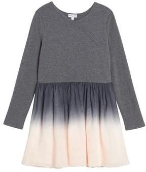 Splendid Girl's Dip Dye Tulle Dress